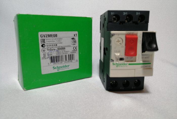 Guardamotor Schneider electric GV2 ME08 (2.5-4 amp)