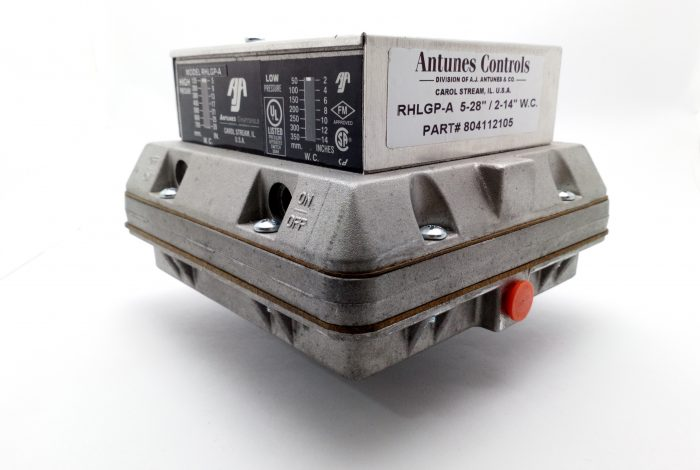 Presostato de gas doble Autones Control RHLGP-A 5-28″ / 2-14