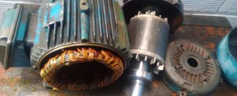 Arranque de un motor con control directo