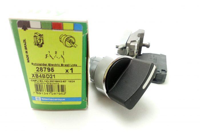 Selector de 2 Posiciones con Muletilla REF XB4BD21 Schnneider Electric