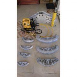 ENERPAC- Conjunto de de dobladores de tubos con cilindro, bomba eléctrica 230 V