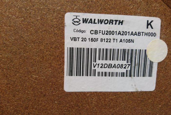 Válvula Walworth 20″ Clase 150