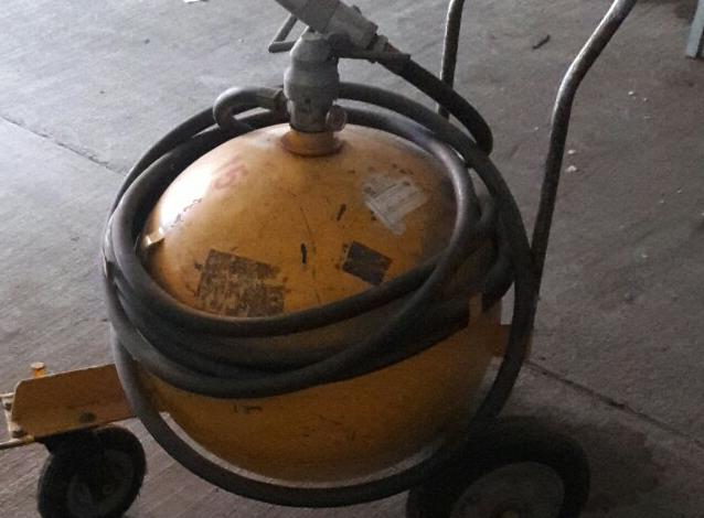 Extintor de bola ABC de 150 libras Manguera de 10 mts