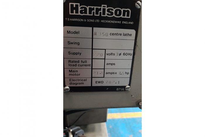 Torno mecánico HARRISON