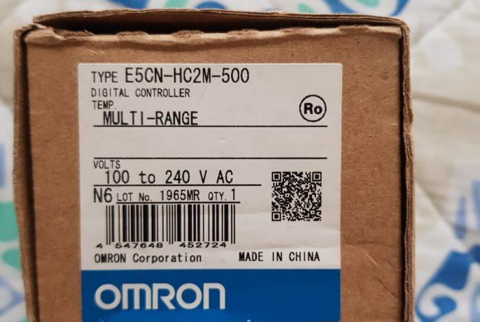 control de temperatura OMRON E5CN-HC2M-500