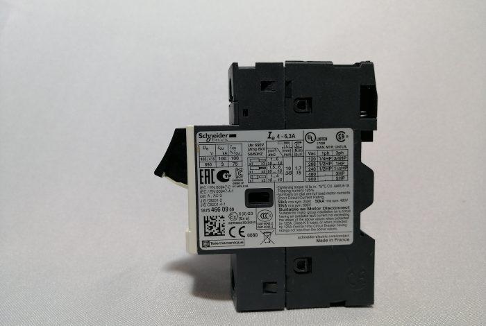 GUARDAMOTOR GV2 ME10 (4-6 amp)