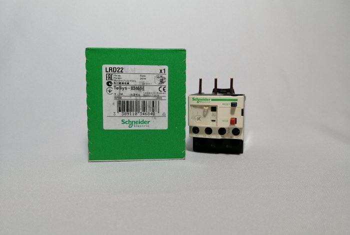 RELE TERMICO LRD22 16-24 AMP