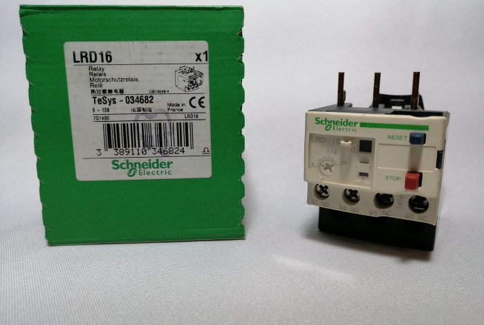 RELE TERMICO LRD16 9.0-13 AMP